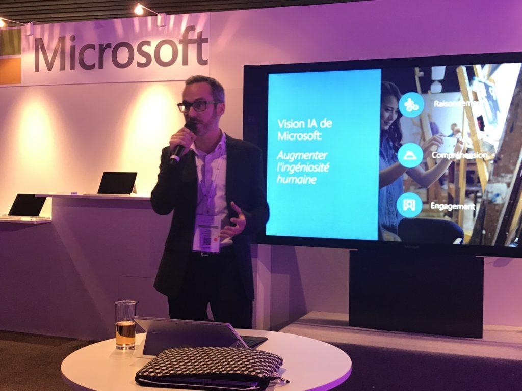 Thomas Kerjean, patron de la division cloud de Microsoft France