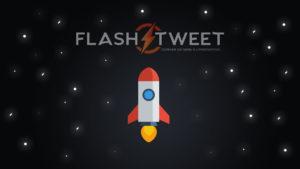 Lancement du site FlashTweet