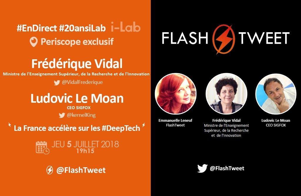 Périscope Frédérique Vida, Ludovic Le Moan 20 ans i-Lab