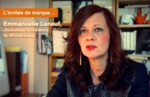 Digital #FlashBack : une année en twittosphère avec Emmanuelle Leneuf