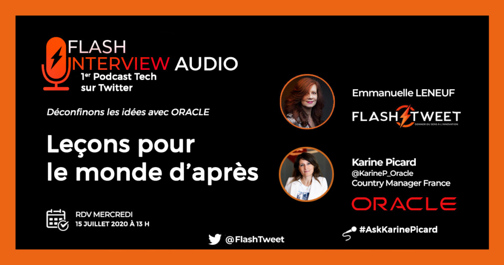 Interview Karine Picard Oracle Podcast Tech TransfoNum