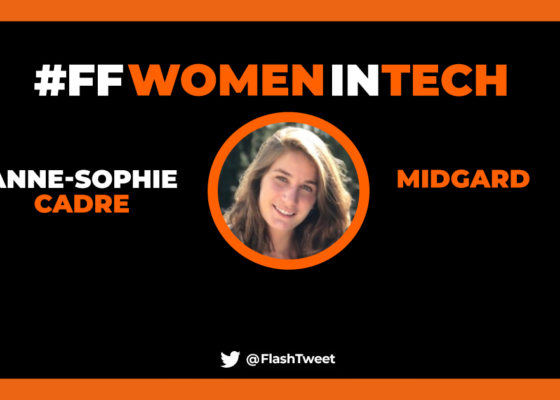 Fiabiliser la prise de décision sur les opérations des pompiers grâce aux données d'un drone, c'est la raison de la présence d'Anne-Sophie Cadre à l'Élysée.
